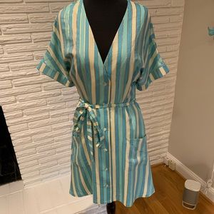 JB Julie Brown NYC LoriAnn shirtdress Sz 8 NWT